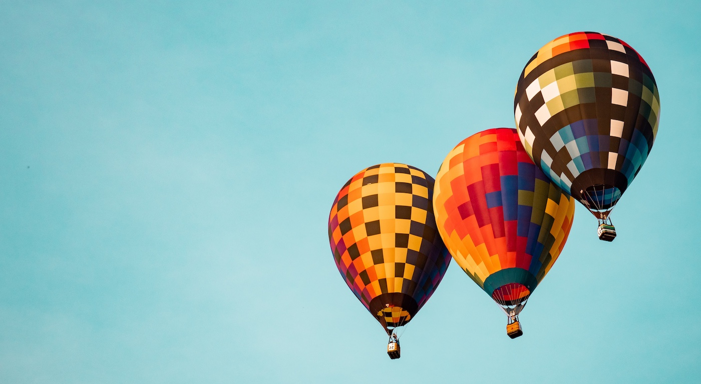 PebblePad Trailblazers - Hot air balloons